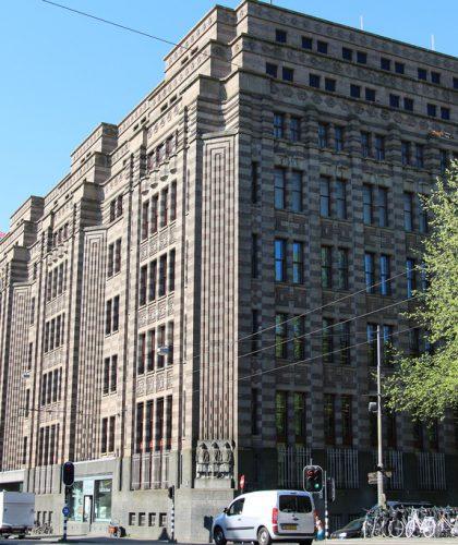 foto van een archiefbank amsterdam