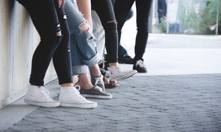 foto van groep jongeren