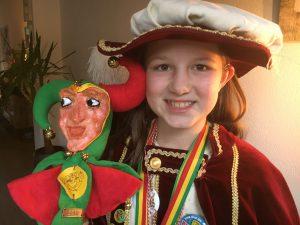 Kaaike als carnavalsprinses