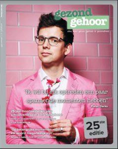 Cover magazine Gezond Gehoor