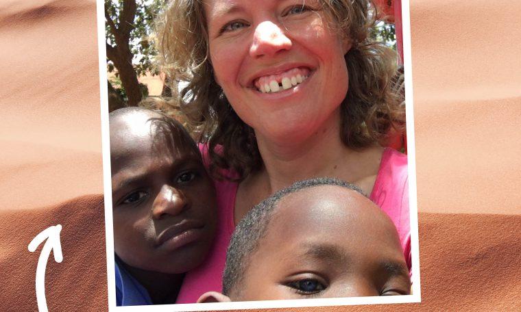 Famke in Uganda