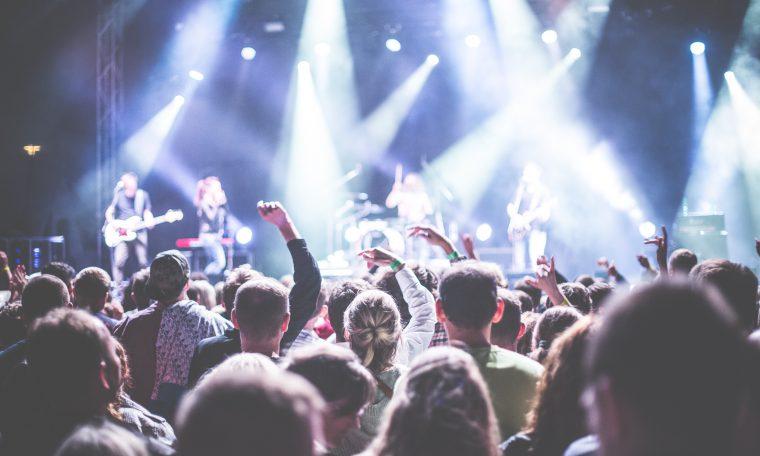 publiek concert lowlands