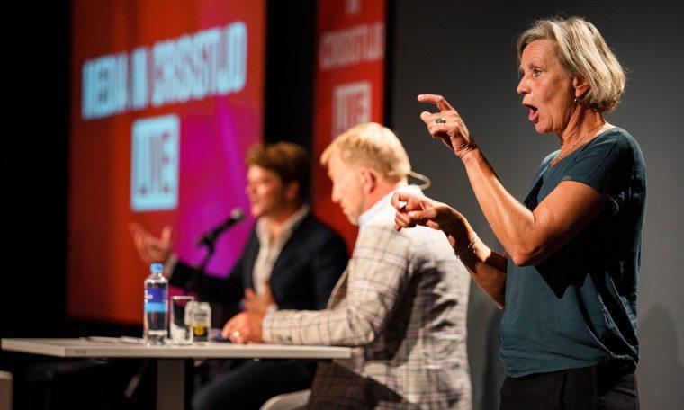 Media in Crisistijd Live - fotograaf Samuel van Leeuwen