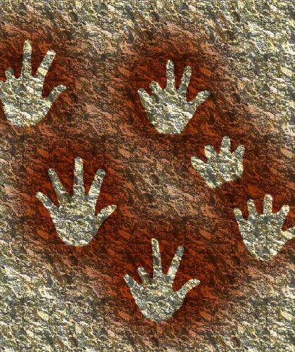 Handen in Gargas. Foto: José-Manuel Benito, Wikimedia