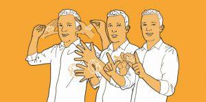 illustratie Nederlandse gebarentaal in NGT