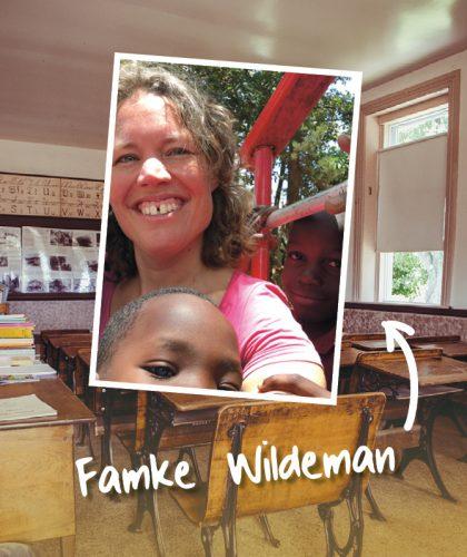 Uitgelichte afbeelding voor de column met Famke Wildeman