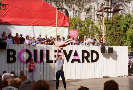 artiesten op boulevard festival
