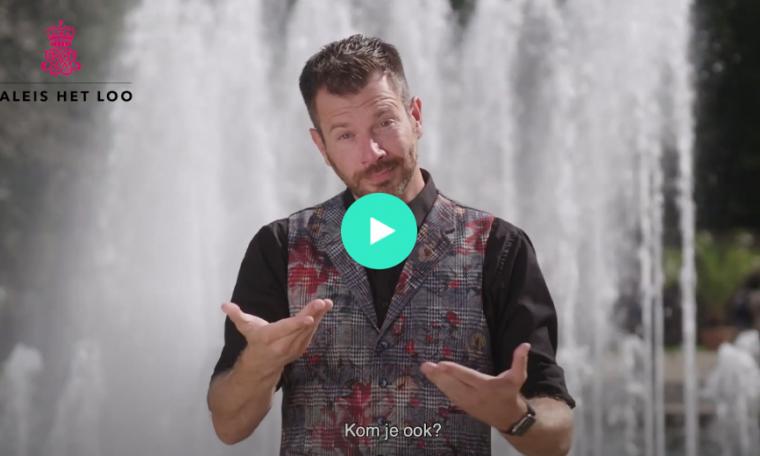 uitgelichte afbeelding video Tolken gebarentaal bij Paleis Het Loo