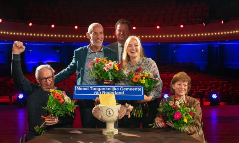 Foto van Gemeente Stein winnaars: Meest toegankelijke gemeente